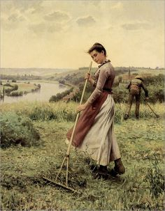 The Breezy Uplands- Daniel Ridgway Knight