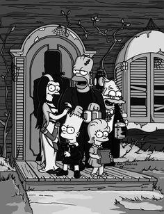 Los Simpson se preparan para Halloween