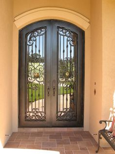 Mediterranean Home Front Door Design .