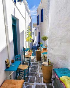 Amazing street~Kimolos island~Greece