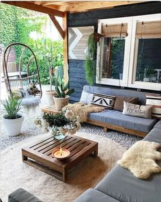 Bohemian Styled Backyard Decor Ideas Bohemian Garden and Patio Fire Pit Backyard, Backyard Patio, Backyard Seating, Yard Landscaping, Diy Patio, Patio Design, Home Design, Ideas Terraza, Patio Decorating Ideas On A Budget