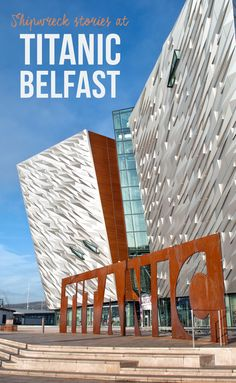 Stories from a shipwreck at Titanic Belfast, the Northern Ireland museum dedicated to the famous ocean liner, which was built here and went down on 14 April 1912