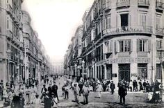 Foto antigua calle Larios MÁLAGA