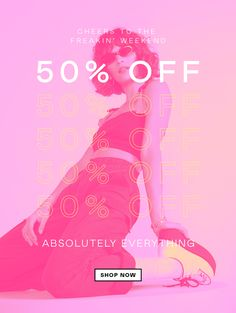 Nasty Gal: You. These things. Email Design Inspiration, Typography Inspiration, Work Inspiration, Marketing Poster, Email Marketing Design, Sale Banner, Banner Gif, Sale Gif, Email Layout