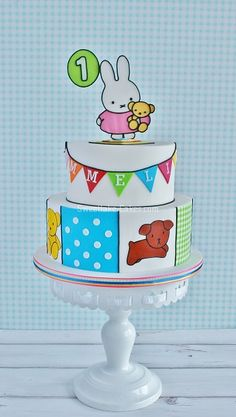 Nijntje taart / Miffy cake