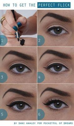 """8 Tips para el perfecto """"eyeliner"""""""