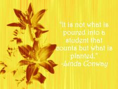 Plant the seed of knowledge