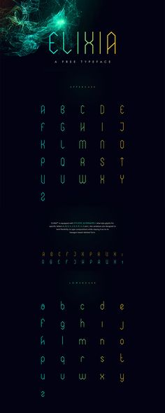 Elixia Font by Kimmy Lee  http://freedesignresources.net/