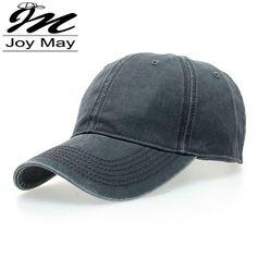 c39257219e3 Adjustable High Quality Unisex Casual Washed Cotton Snapback Baseball Cap  Lässiger Hut