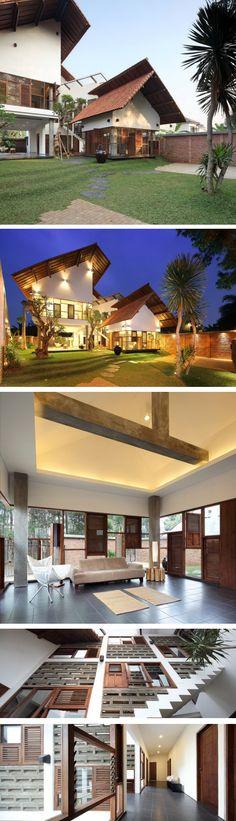Distort House / TWS & Partners Jakarta, Indonesia