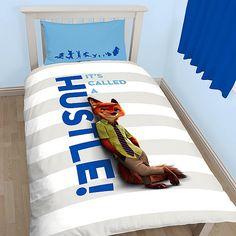 Disney Zootropolis Childrens/Kids Official Twin Duvet/Bedding Set (Twin) (White/Blue) //Price: $17.26 & FREE Shipping //     #bedding