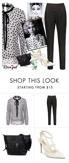 """RoseGal 35"" by followme734 ❤ liked on Polyvore featuring White House Black Market and Valentino"