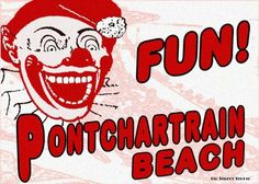 Old New Orleans Digital Art: Pontchartrain Beach