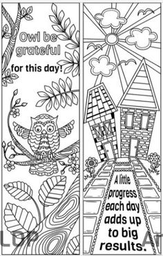 8 coloring bookmark templates #ricldp | Coloring Pages | Pinterest ...