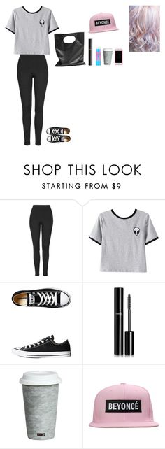 """""""Mall outfit"""" by saraane ❤ liked on Polyvore featuring Topshop, Chicnova Fashion, Converse, Cheap Monday, Chanel, Maybelline, Fitz and Floyd and Lilly Pulitzer"""