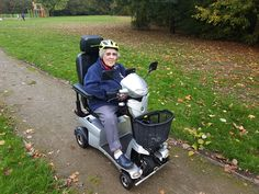 Mrs Rose is all smiles on her Vitess 2 mobility scooter with Q-Cam option fitted. get your demo here http://contact.quingoscooters.com/social-mobility-scooters