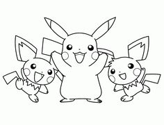 Pokemon Pikachu Coloring Pages Printable | How to Draw Ninja Pikachu ...