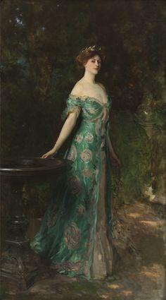 Retrato de Millicent, duquesa de Sutherland, de John Singer Sargent (1904). Colección Thyssen-Bornemisza.