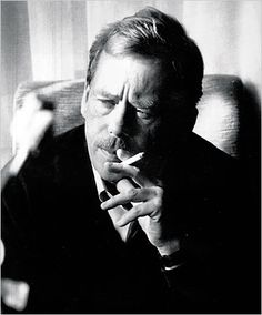 Vaclav Havel - he wrote plays that changed his country to a Democracy.