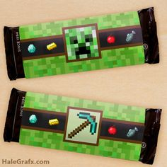Discover recipes, home ideas, style inspiration and other ideas to try. Minecraft Party Favors, Minecraft Party Decorations, Minecraft Birthday Party, Candy Minecraft, Minecraft Crafts, Minecraft Skins, Kids Party Themes, Birthday Party Themes, Party Ideas