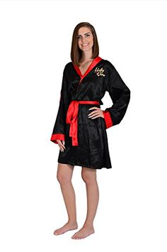 1b9eba2d4c DC Comics Harley Quinn Bombshell Silky Satin Robe     Learn more by  visiting the image link. (This is an affiliate link)