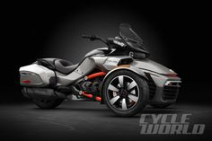 2016 Can-Am Spyder F3-T studio side view
