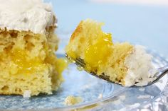 Lemon Coconut Cake - Jenny Can Cook