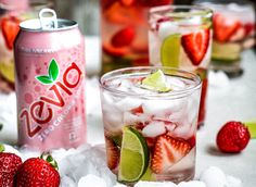 A rosé cocktail on a warm afternoon is what dreams are made of. Keep it clean and swap in some Zevia Strawberry Soda and a dash of vodka for a sugar free version. Vodka Sangria, Sangria Cocktail, Rose Sangria, Rose Cocktail, Vodka Cocktails, Summer Cocktails, Keto Drink, Diet Drinks, Fun Drinks