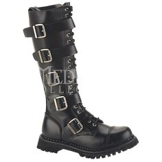 Five Buckle Gothic Tall Boots - FW2049 from Dark Knight Armoury