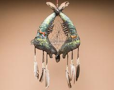 Tarahumara Jaw Bone Dreamcatcher - Deer