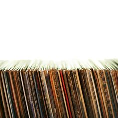 Poster Print Wall Art Print entitled Row of old records Old Records, Vinyl Records, Gramophone Record, Vinyl Junkies, Lps, To Tell, Album Covers, Albums, Music
