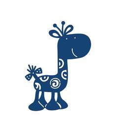 Tattered Lace Metal Die-Giraffe