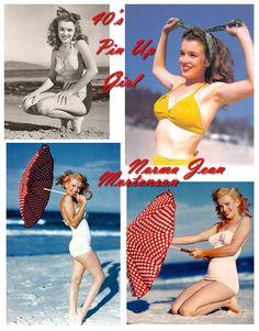 Marilyn años 50 pin up
