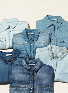 Kinda been obsessed with denim shirts
