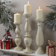 Candleholders can add both light and decoration to a room!