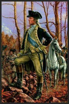 George Washington veux être sucer par les Britanniques