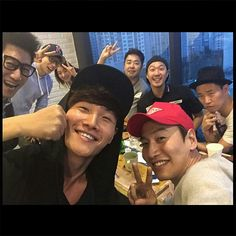 "[150510] Jong Kook's Instagram update ""We got something big planned for u guys! Stay tuned!!"" Running Man Korean, Ji Hyo Running Man, Lizzy After School, Running Man Members, Korean Variety Shows, Kim Jong Kook, Kwang Soo, Running Humor, Gong Yoo"