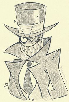 by RossmaniteAnzu on DeviantArt Scary Drawings, Dark Art Drawings, Art Drawings Sketches Simple, Tattoo Drawings, Cartoon Sketches, Cartoon Art Styles, Character Art, Character Design, Art Reference