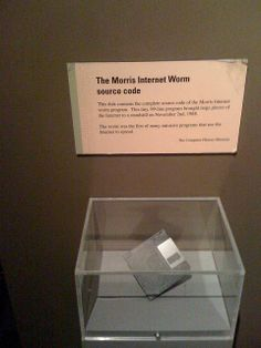 The Morris Worm | Flickr - Photo Sharing!