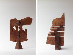木の切れ端がアートに「永見眞一 無用のときめき展」開催中