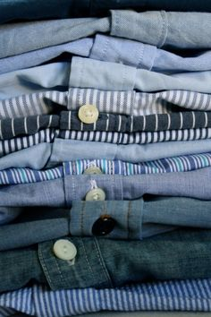 I can wear this everyday just like Ernest. #Chambray