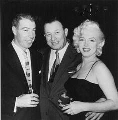 Joe DiMaggio, seen in an undated photo with Toots Shor during the Yankee center fielder's ill-fated, nine-month marriage to Marilyn Monroe, was a fixture, as were other sports and entertainment stars, at Shor's restaurant in midtown Manhattan during the 1950s.