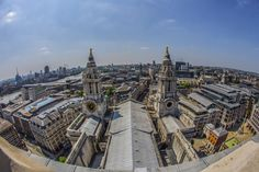 View from the top of St. Paul's.