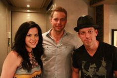 Host Drew Waters with Keifer and Shawna Thompson of Thompson Square. See MORE pics of celeb motor homes here>> http://www.greatamericancountry.com/shows/celebrity-motor-homes/top-25-celebrity-motor-homes--pictures?soc=pinterest