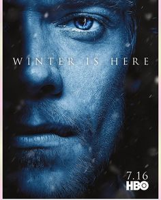 Game of Thrones season 7 character poster of Theon Greyjoy (Alfie Allen) Game Of Thrones Poster, Watch Game Of Thrones, Game Of Thrones Facts, Game Of Thrones Funny, Game Of Thrones Pictures, Game Thrones, Winter Is Here, Winter Is Coming, Hip Hip