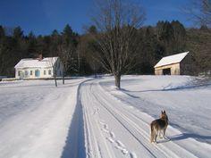 Vermont farmhouse near Stratton