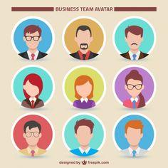 illustrated avatars simple - Google Search
