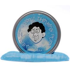 At The Granville Island Toy Company: Crazy Aaron's Thinking Putty // Electrics // Electric Blue Thinking Puddy, Aaron's Thinking Putty, Crazy Aaron's Putty, Silly Putty, Granville Island, And July, Soothing Colors, Nature Study