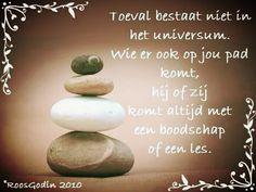 Toeval bestaat niet Dutch Quotes, Carpe Diem, True Words, True Quotes, Qoutes, Spiritual Quotes, Healing, Wisdom, Afrikaans