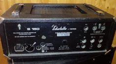 Echolette Akkordeon - oder  Bassverstärker mit Box